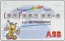 """TWK Österreich Privat: """"ABB-Betriebsrat - 50E"""" Gebr. - Oesterreich"""