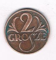 2 GROSZY 1927  POLEN /2276/ - Pologne