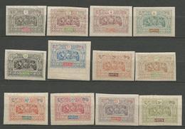 OBOCK N° 47 à 59 NEUF* AVEC OU  TRACE DE CHARNIERE TB / MH - Obock (1892-1899)