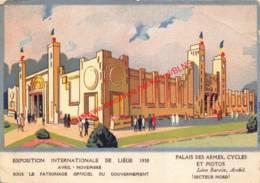 Palais Des Armes Cycles Et Motos - Exposition Internationalle De Liege 1930 - Liège - Liege