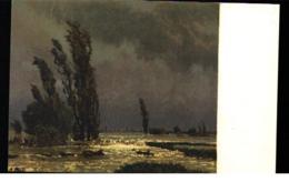 Pro Juventute Artist Painting Adolf Stabli Paysage D'inondation - Schweiz