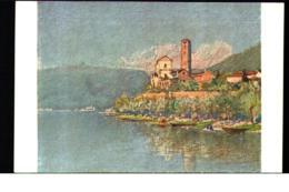 Pro Juventute Artist Painting Filippo Franzoni Eglise De Rivaplana - Schweiz