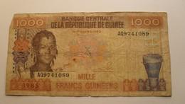 1985 - Guinée - Guinea - 1000 FRANCS GUINEENS - AQ9741089 - Guinée