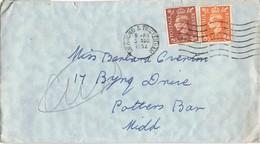 31554. Carta RICHMOND & TWICKENHAM (England) 1952 - 1952-.... (Elizabeth II)