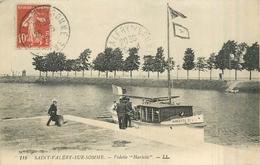 """80 SAINT VALERY SUR SOMME  Vedette """"harlette"""" 2scans - Saint Valery Sur Somme"""