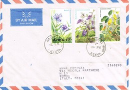 31555. Carta Aerea NAIROBI (Kenia) 1970 To Roma - Kenia (1963-...)