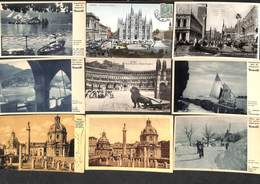 Italie Italy Italia - Lot 114 Cartes Postcards (voir Zie See Scans, Petit Prix) - 100 - 499 Cartes