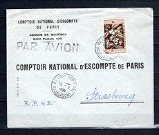 MADAGASCAR N° 331  SUR LETTRE   COTE 5.00€   CAFE - Covers & Documents