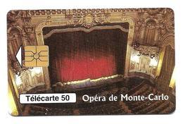 Télécarte Monaco MF46 Opéra De Monté - Carlo - Monaco