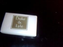 Savon Savonette D Hotel   Publicitaire  Non Utilisèe  Pub Boutque De Mode  Duke & LYLE Allemagne - Publicité