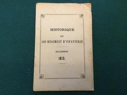 Petit Historique 146° Régiment D'infanterie Toul 1893 8 Pages - Documents