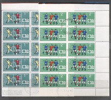 Bulgaria 1974 10 X Sport Football WC Germany Mi.2326-7 Used TA.005 - Bulgarien