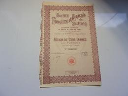 FONCIERE ET RIZICOLE DE SOCTRANG (1929) SAIGON,INDOCHINE - Non Classés