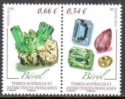 TAAF - 2015 - Diptyque Minéraux : Béryl ** - Neufs