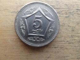 Pakistan  5  Rupees   2003   Km 65 - Papúa Nueva Guinea
