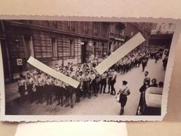 1934 Paris Croix De Feu Départ D'une Manifestation Colonel De La Rocque Front Populaire Ligues Patriotiques Fascisme - War, Military