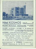 Hotel Kosmos Mont Rouge West-Outre  (11653) - Heuvelland
