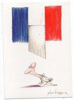 CPM  ILLUSTR. DESCLOZEAUX     BICENTENAIRE DE LA REVOLUTION FRANCAISE   GUILLOTINE - Desclozeaux
