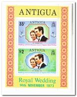 Antigua 1973, Postfris MNH, Wedding Of Princess Anne Met Mark Philips - Antigua En Barbuda (1981-...)