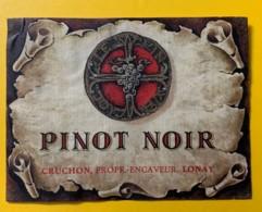 10109 - Pinot Noir Cruchon Lonay Suisse - Etiquettes