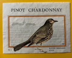 10110 - Pinot Chardonnay Roger Bernard Etoy Suisse - Etiquettes