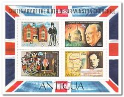 Antigua 1974, Postfris MNH, 100th Birhday Of Winston Spencer Churchill - Antigua En Barbuda (1981-...)
