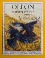 10115 - Ollon Tastegrain 1996 Jean Vogel Suisse - Etiquettes