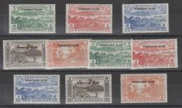 Nouvelles- Hébrides_ Taxe - (  2 Légende) N°36/45 (1957 ) - Segnatasse