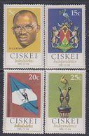 Ciskei N° 1 / 4 Xx Indépendance Nationale, Les 4 Valeurs Sans Charnière, TB - Ciskei