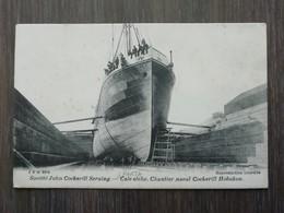Société John Cockerill Seraing Cale Sèche Chantier Naval Cockerill Hoboken - Antwerpen