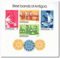 Antigua 1974, Postfris MNH, Steel Bands Of Antigua - Antigua En Barbuda (1981-...)