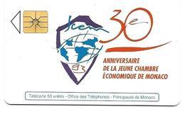 Télécarte Monaco MF 28 - Monaco