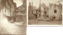 1916 - PATONE    CALDONAZZO , 2 Prg.Foto 12X9cm. Gute Zustand 2 Scan - Trento