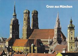 CPA ALLEMAGNE Gruss Aus München Munich Weltstadt Mit Herz - Muenchen