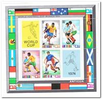 Antigua 1974, Postfris MNH, Football Worldcup - Antigua En Barbuda (1981-...)