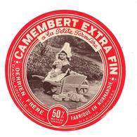 ETIQUETTE FROMAGE NORMANDIE - DERRIEN FRERE - DAMBLAINVILLE - A LA PETITE FERMIERE - - Cheese