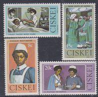 Ciskei N° 22 / 25 XX  Hommage à Cécilia Makiwane, Première Infirmière De Race Noire à Exercer En Afique Sud, Ss Ch., TB - Ciskei