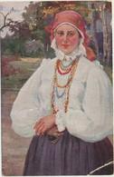 61-383 Russia A. Boutshkouri Im Vollen Schmuck In Full Attire National Costmes - Russie