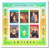 Antigua 1973, Postfris MNH, Christmas - Antigua En Barbuda (1981-...)
