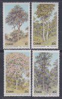 Ciskei N° 34 / 37 XX  Flore : Arbres Indigènes. La Série Des 4 Valeurs Sans Charnière, TB - Ciskei