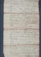 Manuscrit De 1779.Tinchebray, Délibération Sur L'utilisation En Communauté D'un Pressoir. - Manuscrits