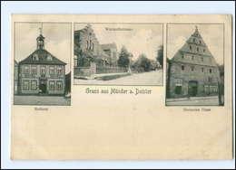 U5790-3252/ Gruß Aus Münder A. Deister 1907 AK - Allemagne