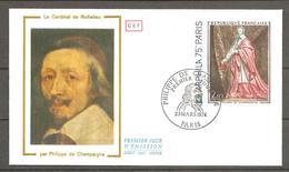 FDC 1974  LE CARDINAL DE RICHELIEU - FDC