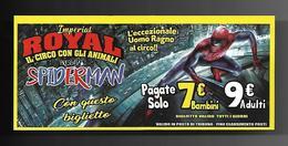 Biglietto Ingresso - Circo Royal Imperial 3  Cm. 14x6 - Biglietti D'ingresso
