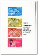 Antigua 1976, Postfris MNH, Olympic Games - Antigua En Barbuda (1981-...)