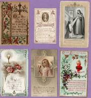 RELIGION 103 Images Rhodoïds-Peintes Main- Espagnoles- Diverses Autres. Toutes Scannées - Cartes Postales