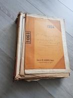 Lot Important D'actes Notariés Notaire SAUXILLANGES - Documents Historiques