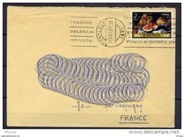 Am3225 YvT 2011 JdT 1976 Nature Morte 7 P./Lettre Pour La France 1977 - 1931-Aujourd'hui: II. République - ....Juan Carlos I