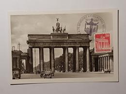 Berlin Brandenburger Tor, Katholikentag 1952 ( Nicht Gelaufen); H13 - Brandenburger Door
