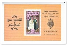 Antigua 1977, Postfris MNH, 25 Years Reign Of Queen Elizabeth II - Antigua En Barbuda (1981-...)